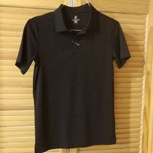 ♥️NWOT Class Club youth dry fit style polo shirt